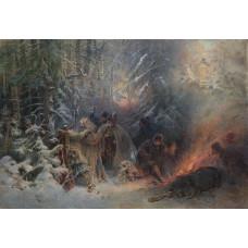 Подвиг Ивана Сусанина. Выставка одной картины