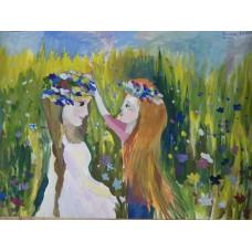 Призер «Красок России» Александра Вислова благодарит «ВВЕРХ» за подарки