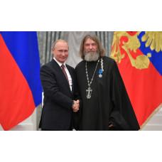 Друг журнала «Вверх» о. Федор Конюхов удостоен ордена Почета