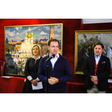 В Троицке открылась выставка «Евангелие глазами молодых художников»