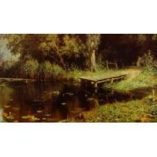 Картина «Пруд с ветлами» кисти Василия Поленова вернулась в Таганрог
