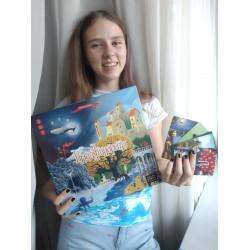 Призер «Красок России» Екатерина Розенбаум мечтает связать свою жизнь с искусством