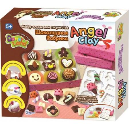 Масса для лепки ANGEL CLAY AA13081 Шоколадная мастерская