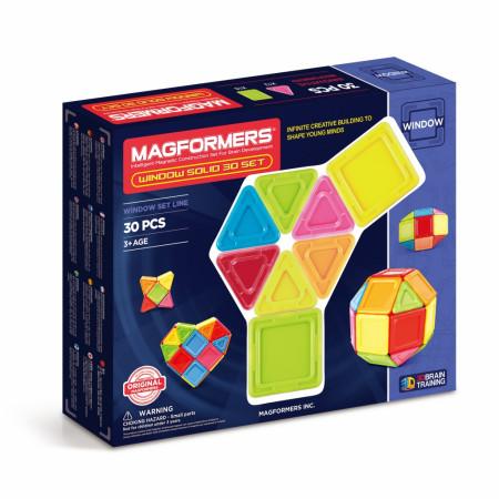 Магнитный конструктор MAGFORMERS 714006 Window Solid 30 set