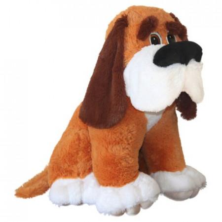 Мягкая игрушка Собака Серапей сидячий (С)И /45 см/, цвет Золото
