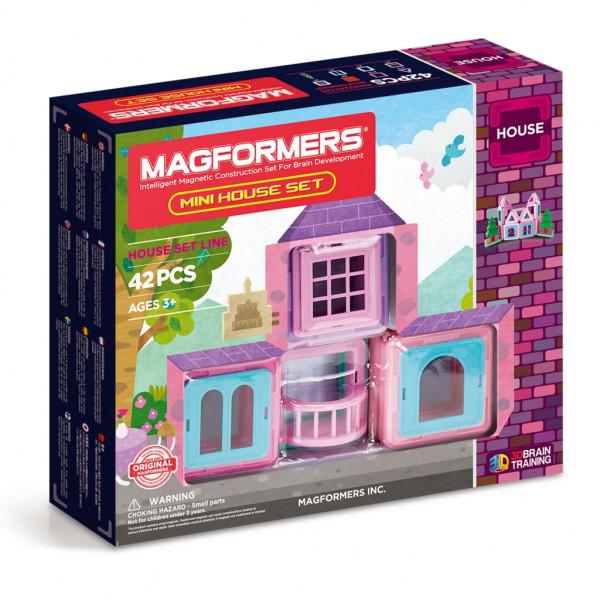 Магнитный конструктор MAGFORMERS Mini House Set 42 705005