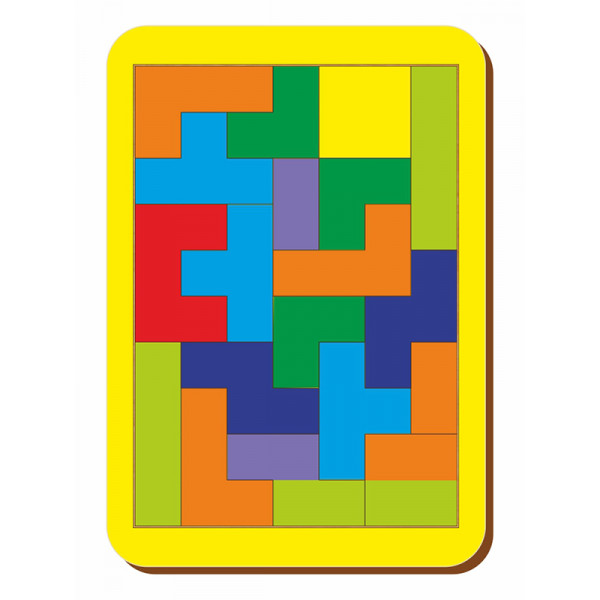 Логическая игра WOODLANDTOYS Тетрис 065201