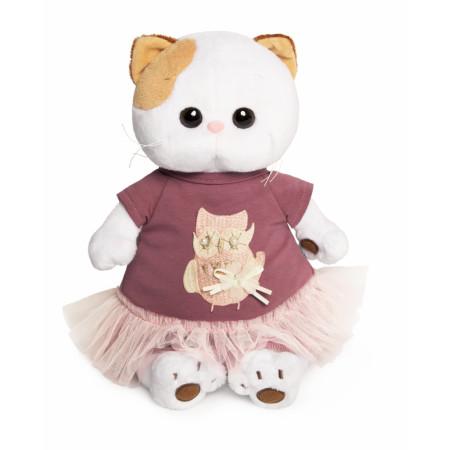 Мягкая игрушка BUDI BASA LK24-019 Ли-Ли в платье с совой