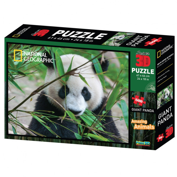 Стерео пазл PRIME 3D Большая панда 10071