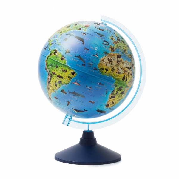 Глобус GLOBEN Зоогеографический (Детский) 250мм Ке012500269