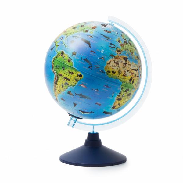 Глобус GLOBEN Зоогеографический (батарейки) 250 Классик Евро Ве012500268