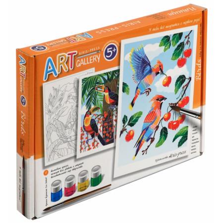 Набор для творчества АЙРИС-ПРЕСС 58505 Птицы.Средний набор