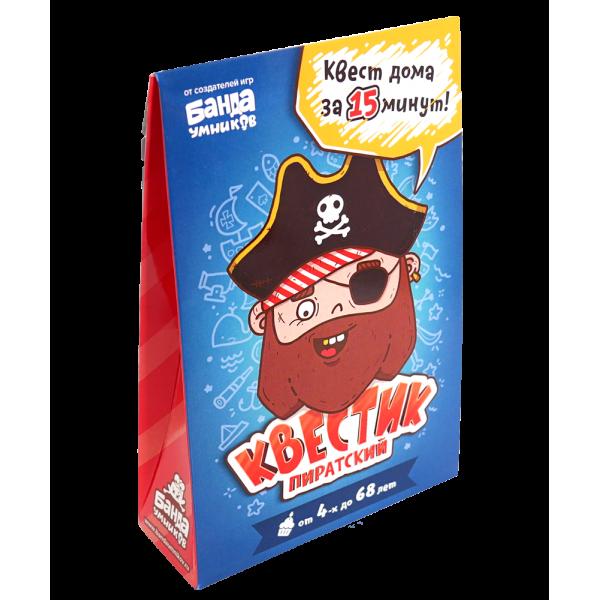Игра БАНДА УМНИКОВ Квестик пиратский Джек УМ165