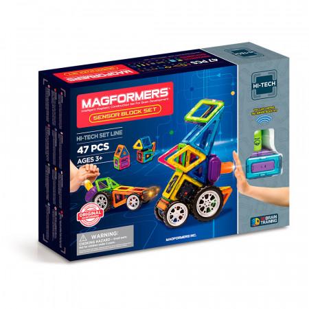 Магнитный конструктор MAGFORMERS 709009 Sensor Block Set