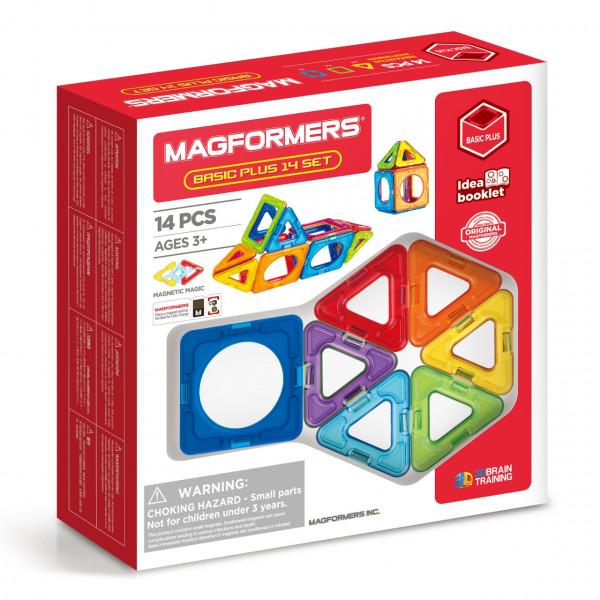 Магнитный конструктор MAGFORMERS Basic Plus set 14 дет. 715013