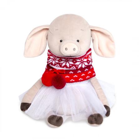Мягкая игрушка BUDI BASA Ps30-006 Свинка Симона Пятакова 30см (в фирм.пакете)