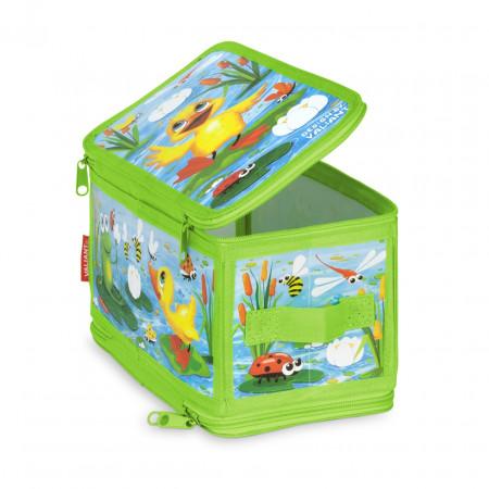 Коробка для хранения VALIANT KCDF-ZIP-S Утята и лягушата 30*15*15 см