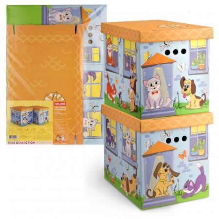 Набор VALIANT KCTN-CD-2M Киски и собачки (картон)