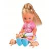 Кукла EVI 5733072 с собачкой и щенками