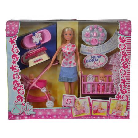 Кукла STEFFI 5730861 с новорожденным