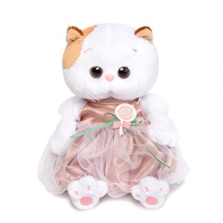 Мягкая игрушка BUDI BASA LB-018 Ли-Ли BABY в платье с леденцом 20см