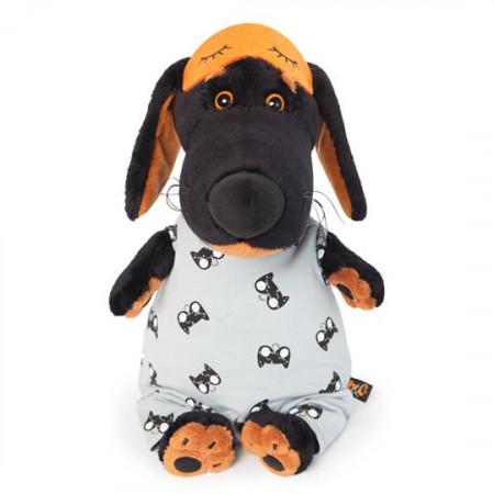 Мягкая игрушка BUDI BASA Vaks25-016 Ваксон в спальном комбинезоне и в маске 25см