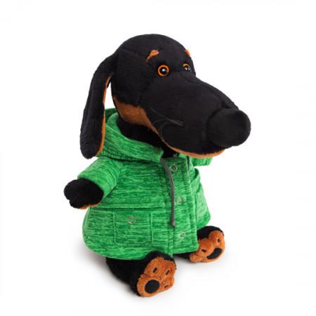 Мягкая игрушка BUDI BASA Vaks29-012 Ваксон в зелёной куртке 29см