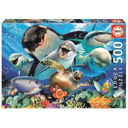 Пазл EDUCA 17647 Подводное селфи 500дет