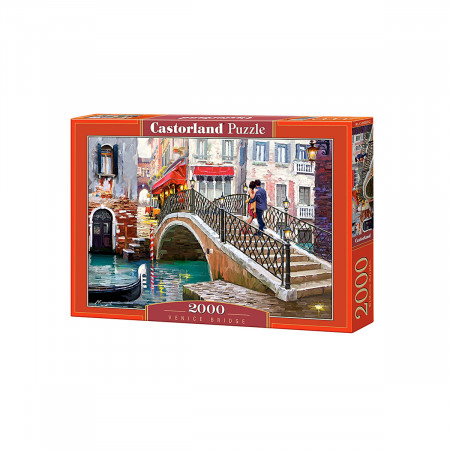 Пазл CASTOR LAND C-200559 Мост Венеция 2000 дет