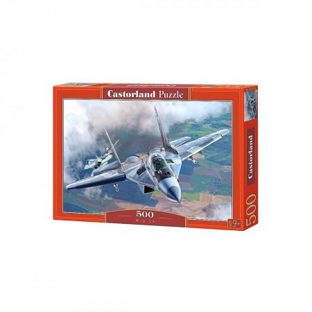 Пазл CASTOR LAND B-52110 МИГ-29 500 дет
