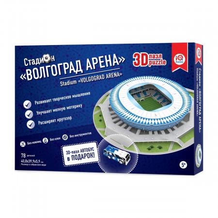 3d пазл IQ 3D PUZZLE 16550 Волгоград Арена