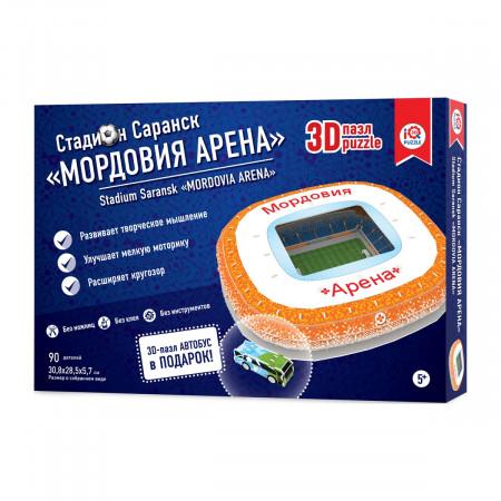 3d пазл IQ 3D PUZZLE 16548 Мордовия Арена Саранск