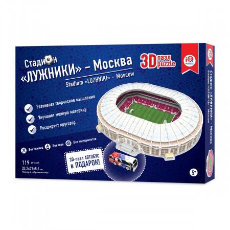 3d пазл IQ 3D PUZZLE 16546 Москва Лужники