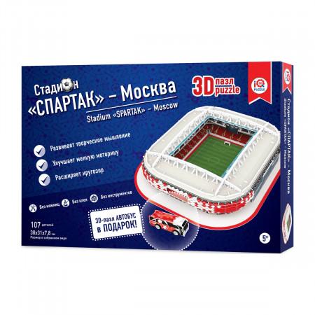 3d пазл IQ 3D PUZZLE 16545 Москва Спартак