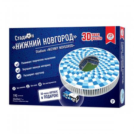 3d пазл IQ 3D PUZZLE 16554 Нижний Новгород