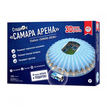3d пазл IQ 3D PUZZLE 16558 Самара Арена