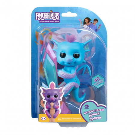 Интерактивная игра FINGERLINGS 3581 Дракон Тара