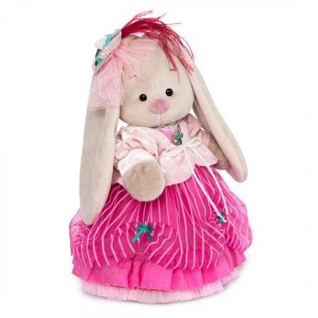 Мягкая игрушка BUDI BASA StS-275 Зайка Ми барышня в карамельно-розовом 25см