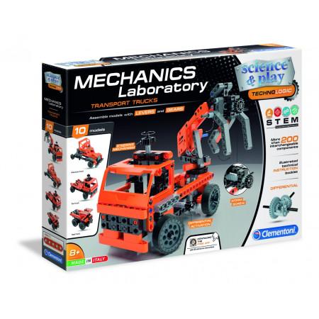 Конструктор CLEMENTONI 75029 Транспортные и карьерные грузовики