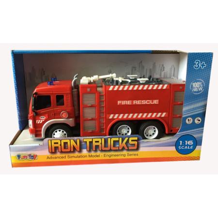 Машина пластиковая FUN TOY 44404/6 Машина пожарная