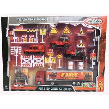 Набор FUN TOY 44414/1 Пожарная техника