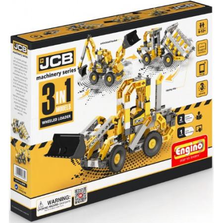 Конструктор ENGINO JCB20 JCB Набор из 3 моделей. Тракторный погрузчик
