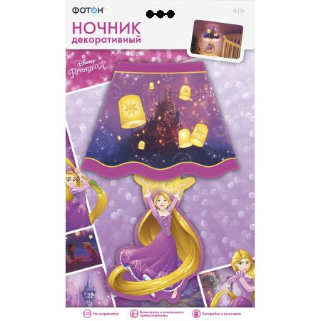 Ночник ФОТОН 22968 декоративный Disney Принцесса Рапунцель