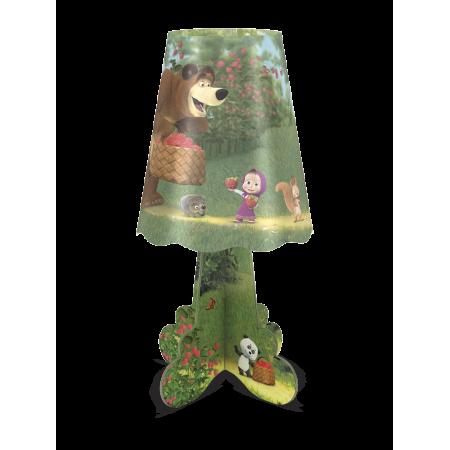 Ночник ФОТОН 22975 настольный Маша и Медведь. Лесная ягода
