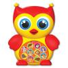 Игрушка АЗБУКВАРИК 82305 Зверята-малышата Совушка