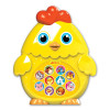 Игрушка АЗБУКВАРИК 82312 Зверята-малышата Цыплёнок