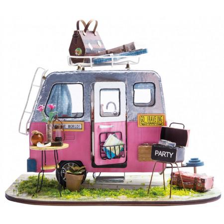 Румбокс DIY HOUSE DGM04 Домик на колесах
