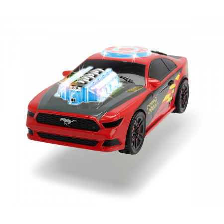 Машина пластиковая DICKIE 3764003 Музыкальный гонщик (свет, звук,музыка)