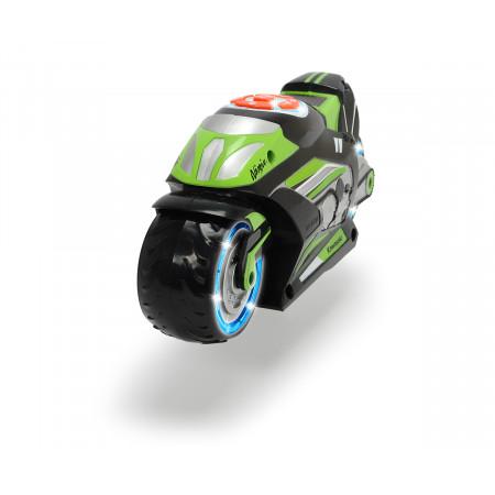 Машина пластиковая DICKIE 3764005 Музыкальный мотоцикл (свет, звук, музыка)