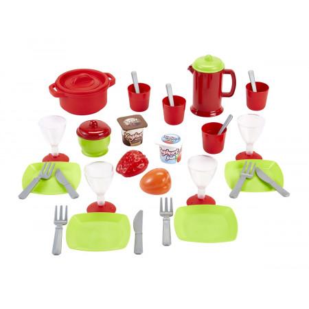 Набор детской посуды ECOIFFIER 2603 Chef 36 предметов